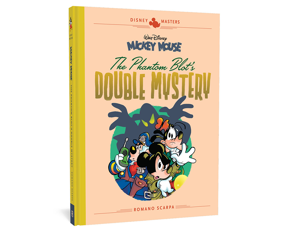 Disney Masters The Phantom Blot's Double Mystery