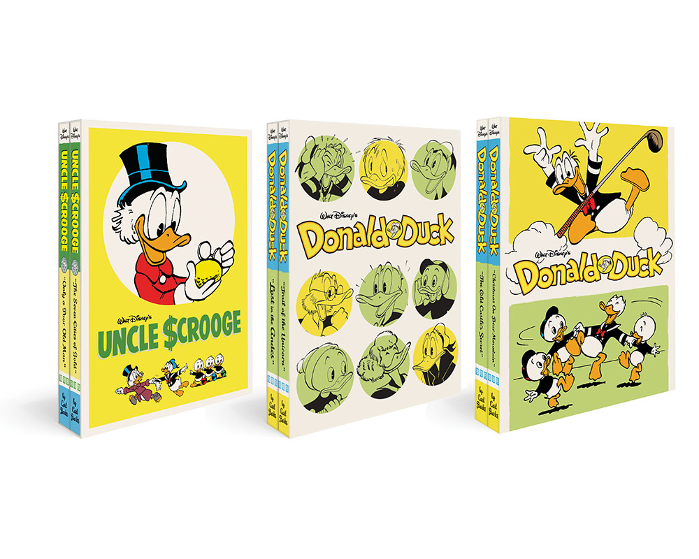 Donald and Scrooge boxsets