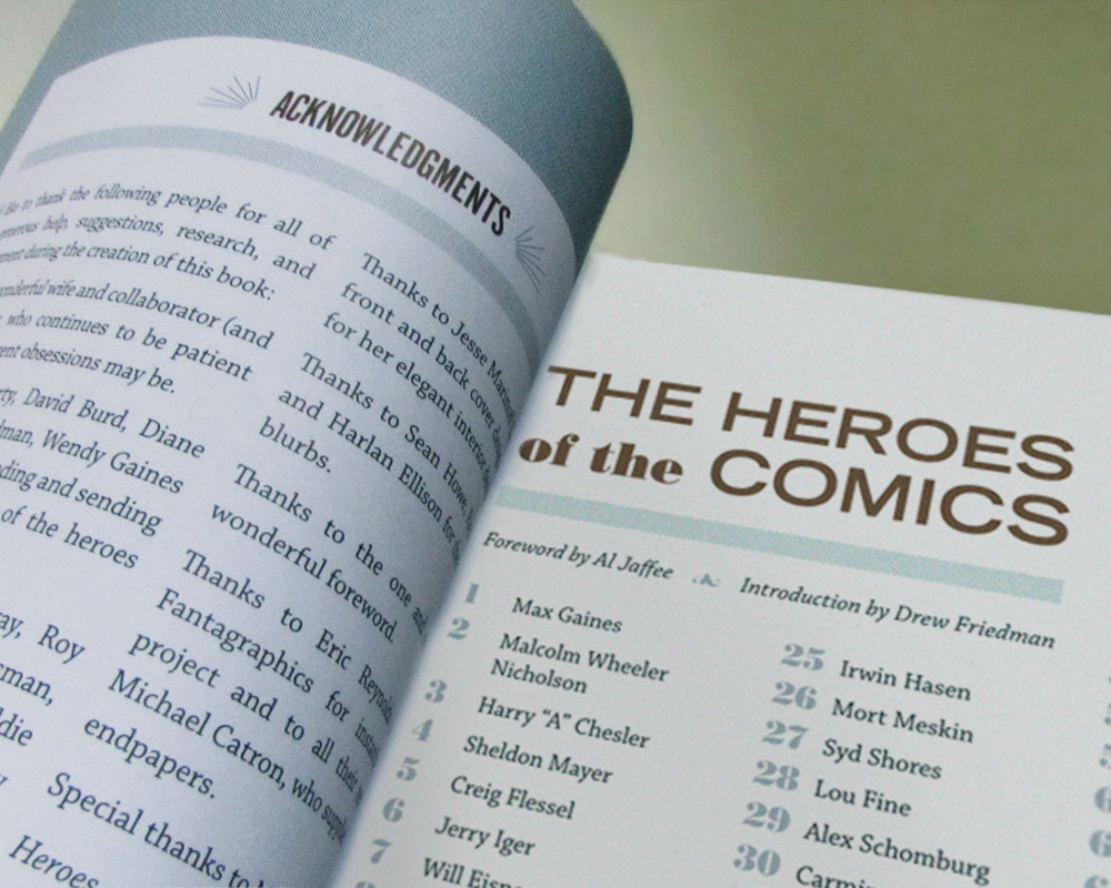 The Complete Heroes of the Comics