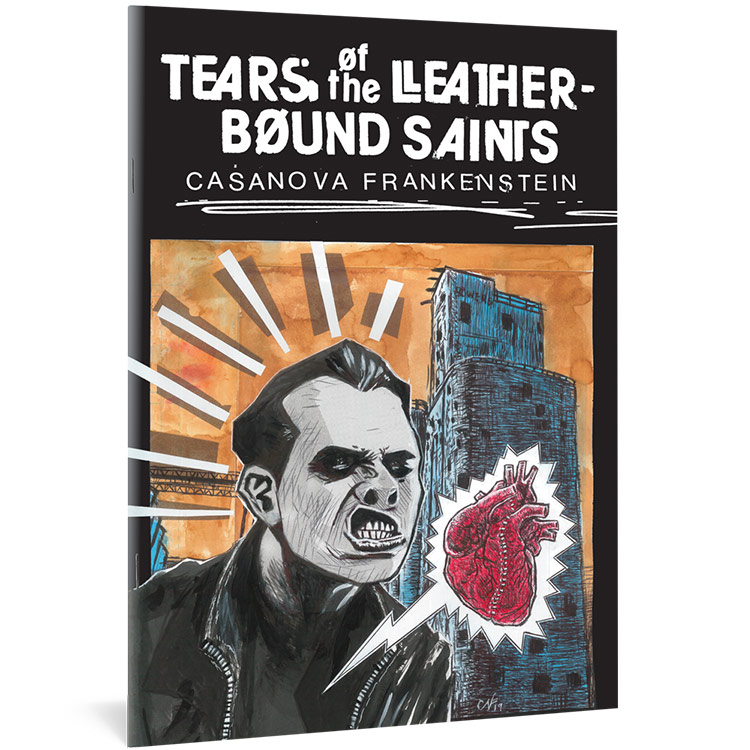 Tears of the Leatherbound Saints book cover